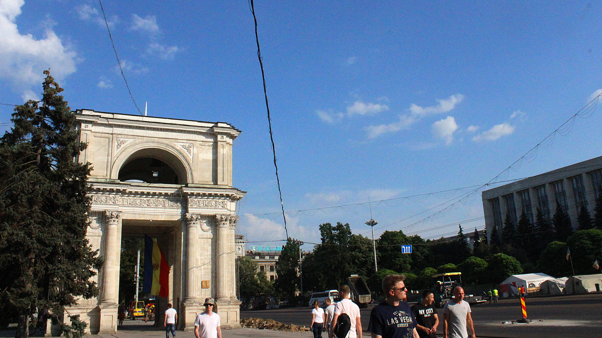 Moldova travel experience. What is Moldova famous for? The Arc de Triomphe of Chișinău, Moldova. The Arc de Triumph of Chisinau, Moldova.