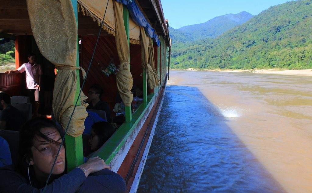 The slow boat ride from Luang Prabang to Huay Xai goes more quickly if you talk to other passengers.