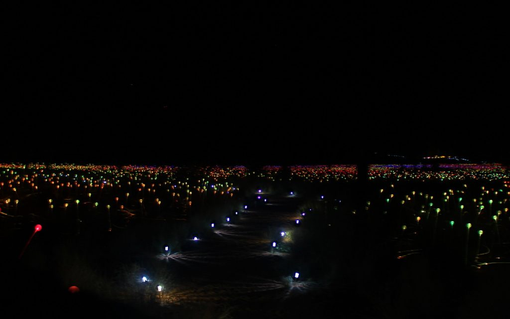 Field of Light Uluru by Bruce Munro