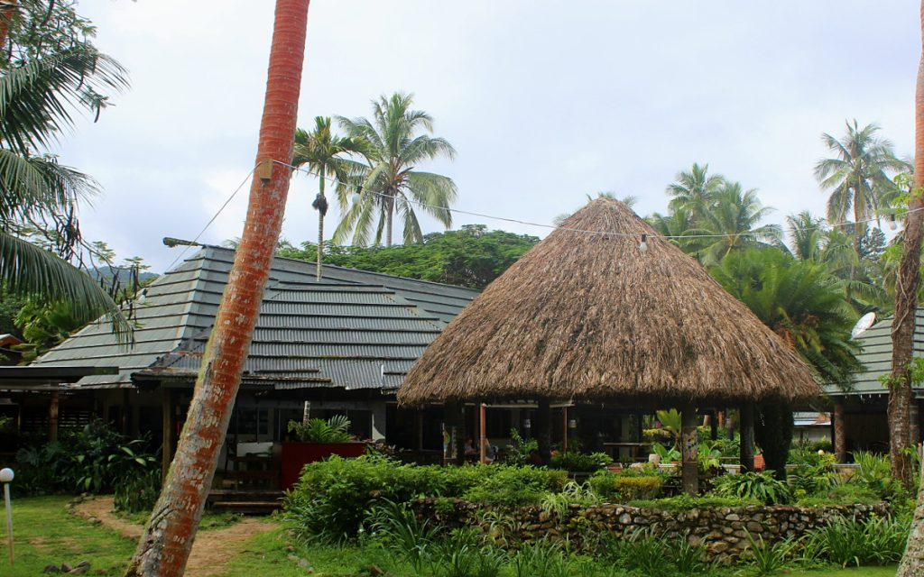 Beachouse main building, Viti Levu Resort.