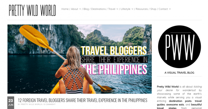 Pretty Wild World travel blog