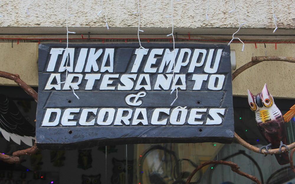Taika Temppu store in Penedo, Brazil.