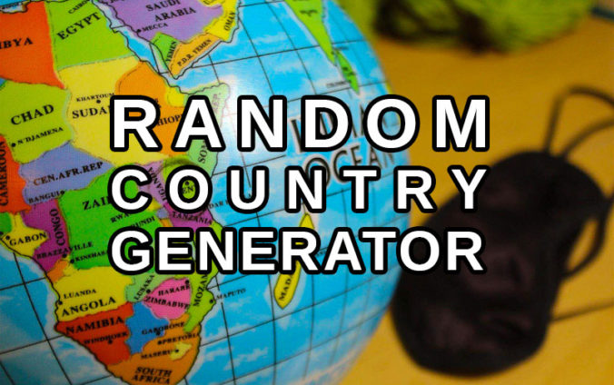 Random Country Generator. Random Destinaiton Generator. Random Country Picker.