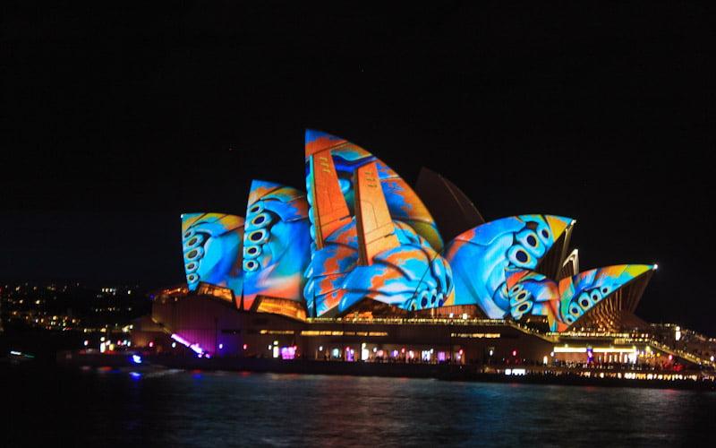 Vivid festival in Sydney, Australia